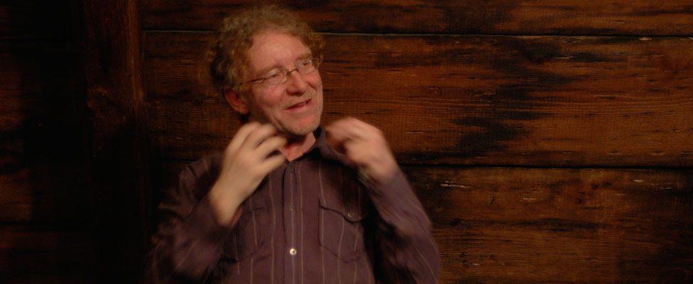 André Lemelin, conteur, Montréal, Québec. Feux follets