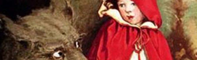André Lemelin. Conteur traditionnel. Le petit chaperon rouge.