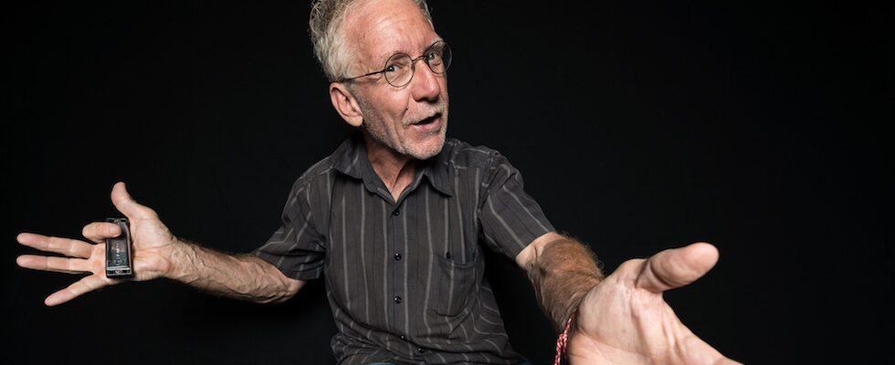 André Lemelin, conteur traditionnel, conteur professionnel, conteur québécois, Montréal, Québec.